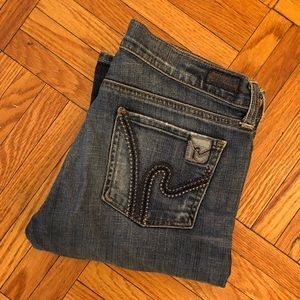Citizens of Humanity low-waist bootcut jeans